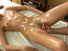 She doesn't have enough of massage - she is ready for fucking!